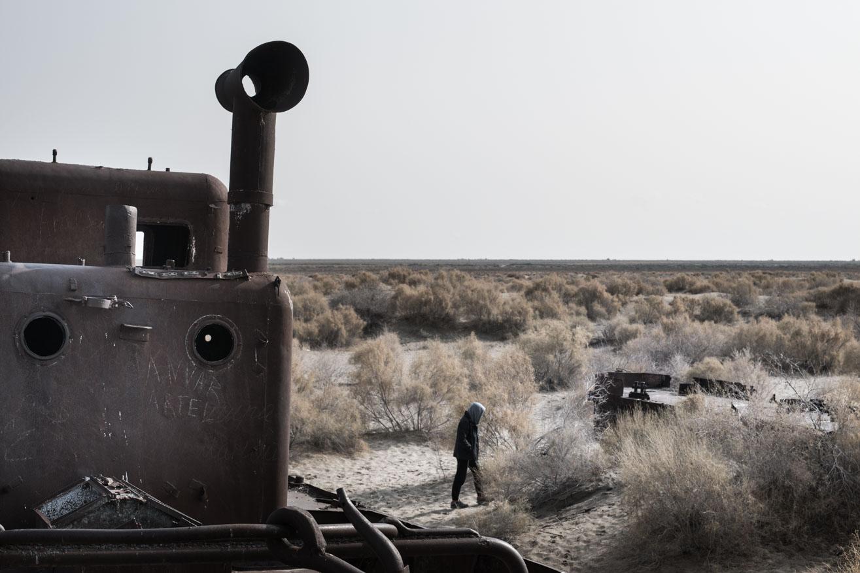 désert mer d'aral moynaq ouzbekistan kirghizstan ex-URSS Asie centrale olivier octobre photographe documentaire reportage
