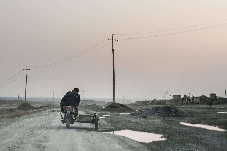 moto carrière ouzbekistan kirghizstan ex-URSS Asie centrale olivier octobre photographe documentaire reportage