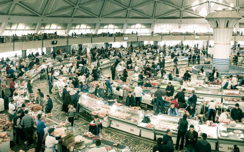 marché couvert tashkent ouzbekistan kirghizstan ex-URSS Asie centrale olivier octobre photographe documentaire reportage