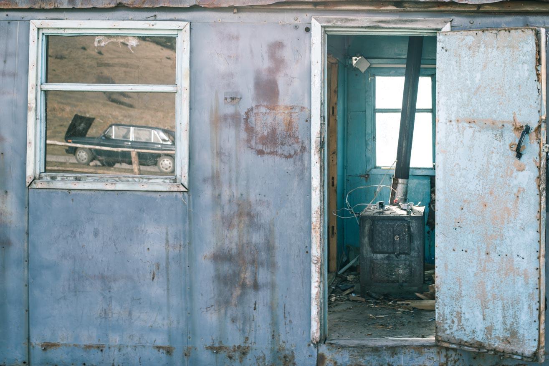 cabanne poele montagnes ouzbekistan kirghizstan ex-URSS Asie centrale olivier octobre photographe documentaire reportage
