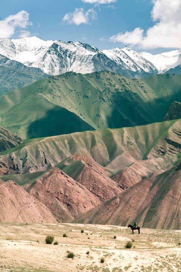 route vallée allai monts célestes ouzbekistan kirghizstan ex-URSS Asie centrale olivier octobre photographe documentaire reportage