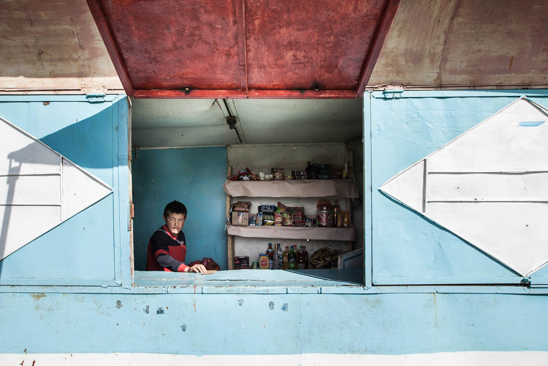 cabane col route vallée allai ouzbekistan kirghizstan ex-URSS Asie centrale olivier octobre photographe documentaire reportage